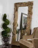 Natural Teak Root Mirror  - LUT4774