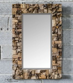 Thatcher Teak Root Mirror  - LUT6430