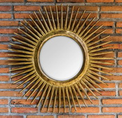 Destello Gold Starburst Mirror  - LUT6432