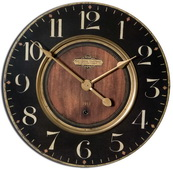 30in Aqua Pear Wall Clock - LUT1132