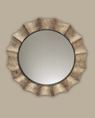 Gotham U Antique Silver Mirror  - LUT4778