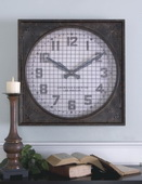 Designer Wall Clock with Grill  - LUT7946