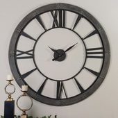 60in Ronan Wall Clock Large  - LUT7947