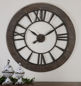 40in Aqua Pear Wall Clock  - LUT7948