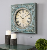 Canal St. Martin Square Wall Clock - LUT1035