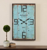 Designer Antiquite Distressed Wall Clock - LUT1041