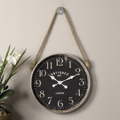 Aqua Pear Wall Clock - LUT1047