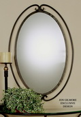 Kilmer Wrought Iron Mirror - LUT4807