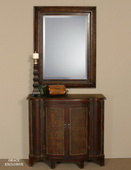 Rowena Decorative Copper Mirror  - LUT4804