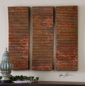 Adara Copper Wall Art  - LUT7548