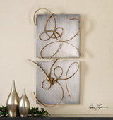 Harmony Metal Wall Art S/2 - LUT1055