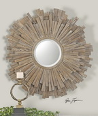 Vermundo Wood Mirror  - LUT6462