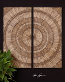 Lanciano Wood Wall Art  - LUT7550