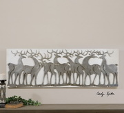 Herd Of Deer Wall Art  - LUT7563