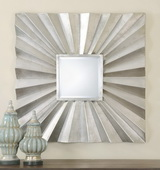 Adelmar Metal Square Mirror  - LUT6524