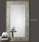 Leron Distressed Bronze Mirror - LUT1067