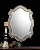 Felicie Oval Gold Mirror - LUT4956