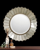 Amberlyn Sunburst Gold Mirror  - LUT4960