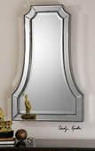 Cattaneo Silver Beaded Mirror  - LUT5034