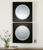 Girard Black Square Mirrors   - LUT6550