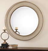 Bricius Round Metal Mirror - LUT1081