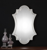Elara Antiqued Silver Wall Mirror - LUT1097