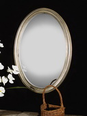 Franklin Oval Silver Mirror  - LUT5078