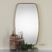 Canillo Antiqued Gold Mirror - LUT4823