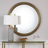 Spera Round Gold Mirror - LUT4845