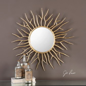Astor Gold Starburst Mirror - LUT4849