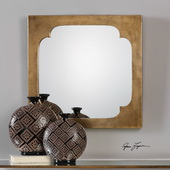 Rania Golden Champagne Mirror - LUT4867