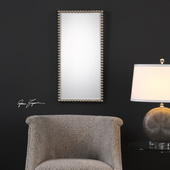 Serna Antiqued Silver Mirror - LUT4895