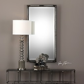 Finnick Iron Coil Rectangle Mirror - LUT4915
