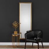 Vilmos Metallic Gold Mirror - LUT4921