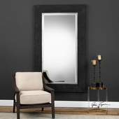 Ferran Textured Black Mirror - LUT4927