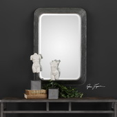 Jarno Industrial Iron Mirror - LUT4935