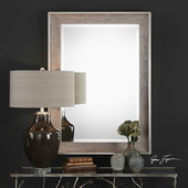 Corrado Textured Gray Mirror - LUT4941