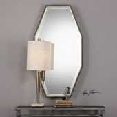 Savion Gold Octagon Mirror - LUT4943