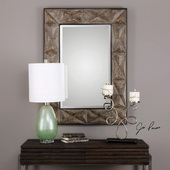 Wilder Aged Wood Mirror - LUT4973