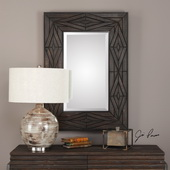 Bolsena Solid Wood Mirror - LUT4975