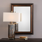 Stuart Rubbed Bronze Mirror - LUT4993