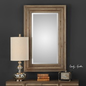 Layton Wood Mirror - LUT5001