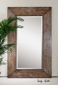 Langford Large Wood Mirror  - LUT5134