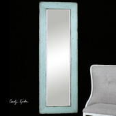 Chasity Light Blue Leaner Mirror - LUT1119