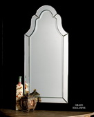 Hovan Frameless Arched Mirror  - LUT5254