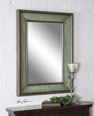 Ogden Antique Light Blue Mirror  - LUT5338