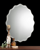 Teodora Ruffed Edge Mirror - LUT5418