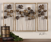 Metal Tulips Wall Art  - LUT7959