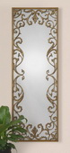 Apricena Decorative Gold Mirror  - LUT5582