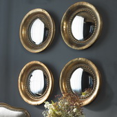 Tropea Rounds Wood Mirror   - LUT6590